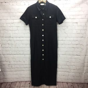 ⬇️ $21 [Worthington] Linen Dress Size 6 Black